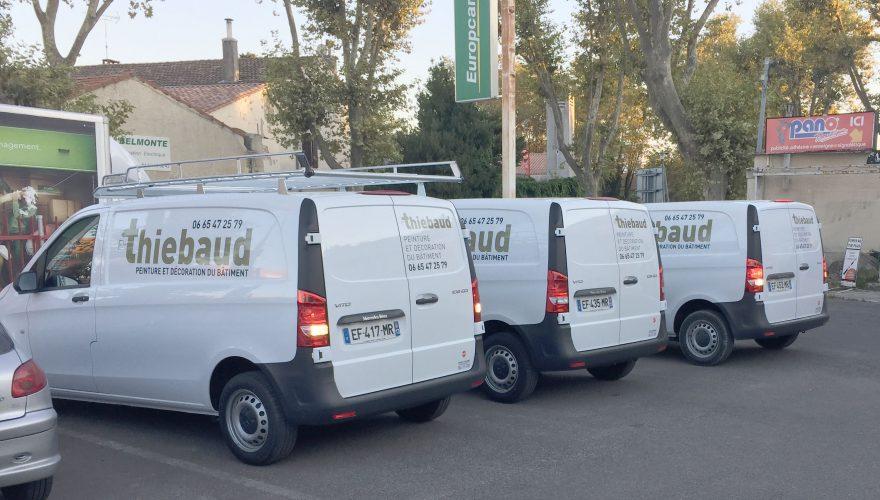 Flotte de véhicules utilitaire